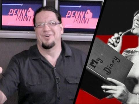 From Penn Jillette's PERSONAL Diary! - Pursuing a Hobby You Suck At - Penn Point
